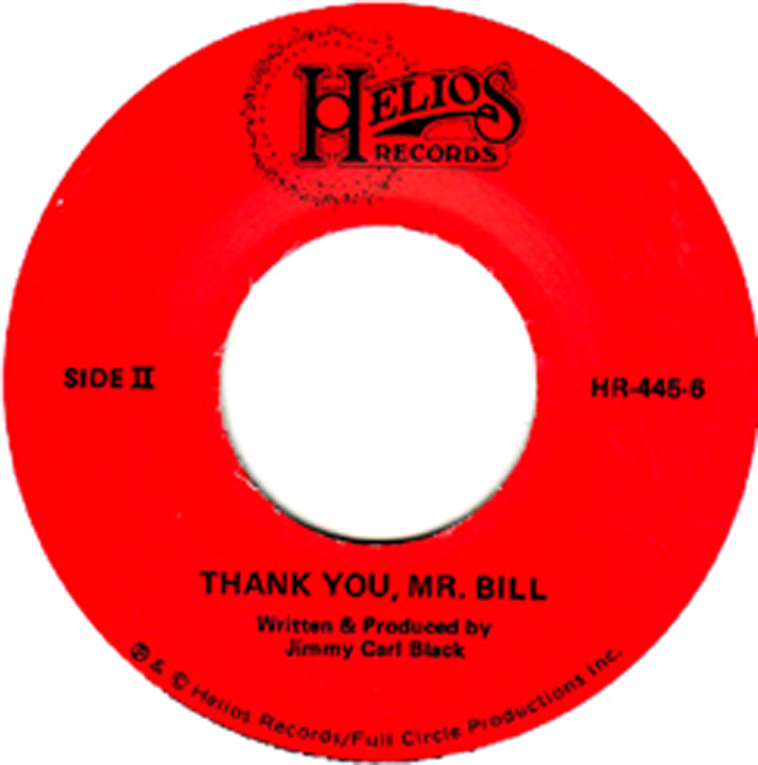 Thank You Mr Bill