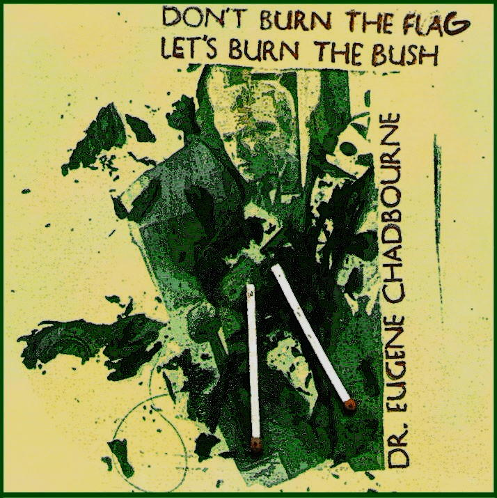 2001 Don't Burn the Flag Burn the Bush