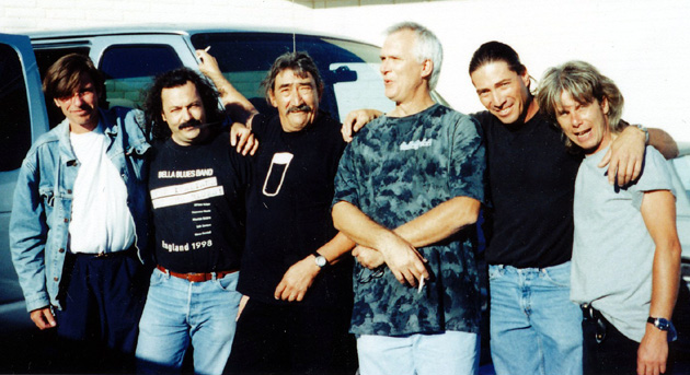 Farrell & Black Stateside 1999 with Darrell Black & Tony Young