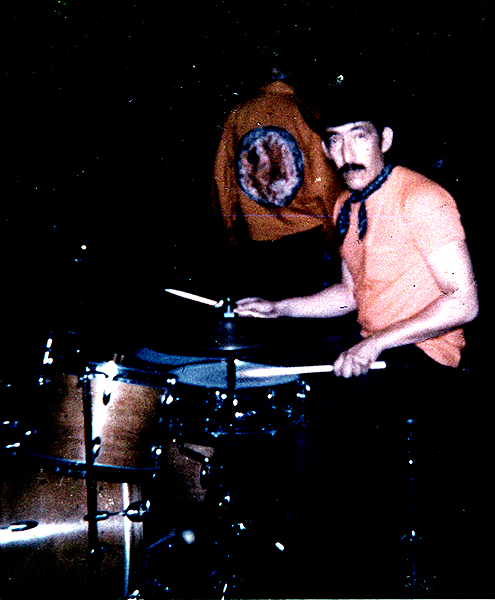New York 1967-8 JCB on drums